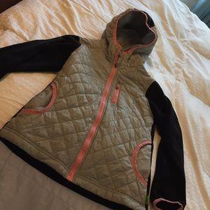 Lands End girls fleece jacket